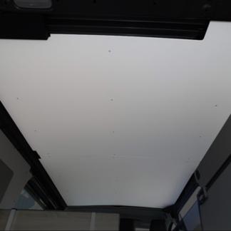 Plafond contreplaqué 5 mm et vaigrage