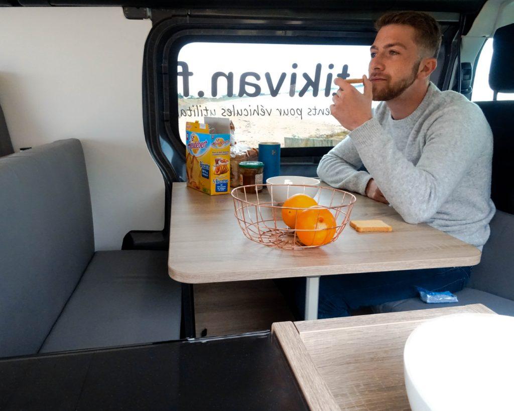 amenagement fourgon camping car