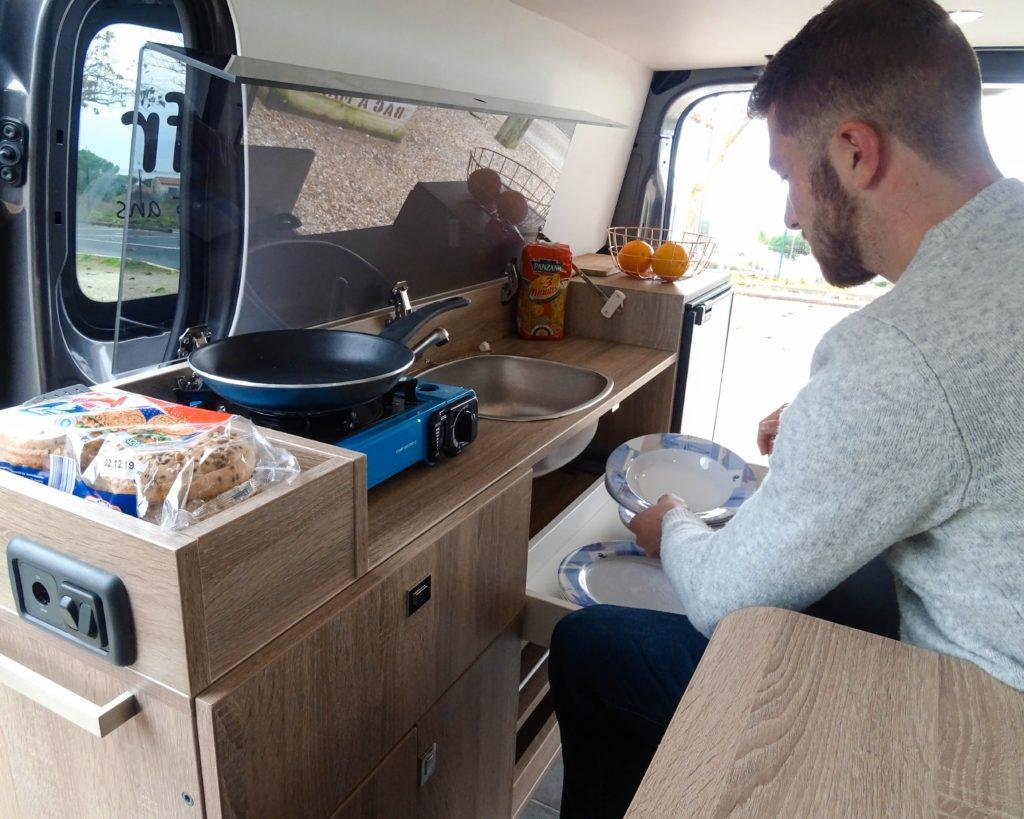 camping car fourgon