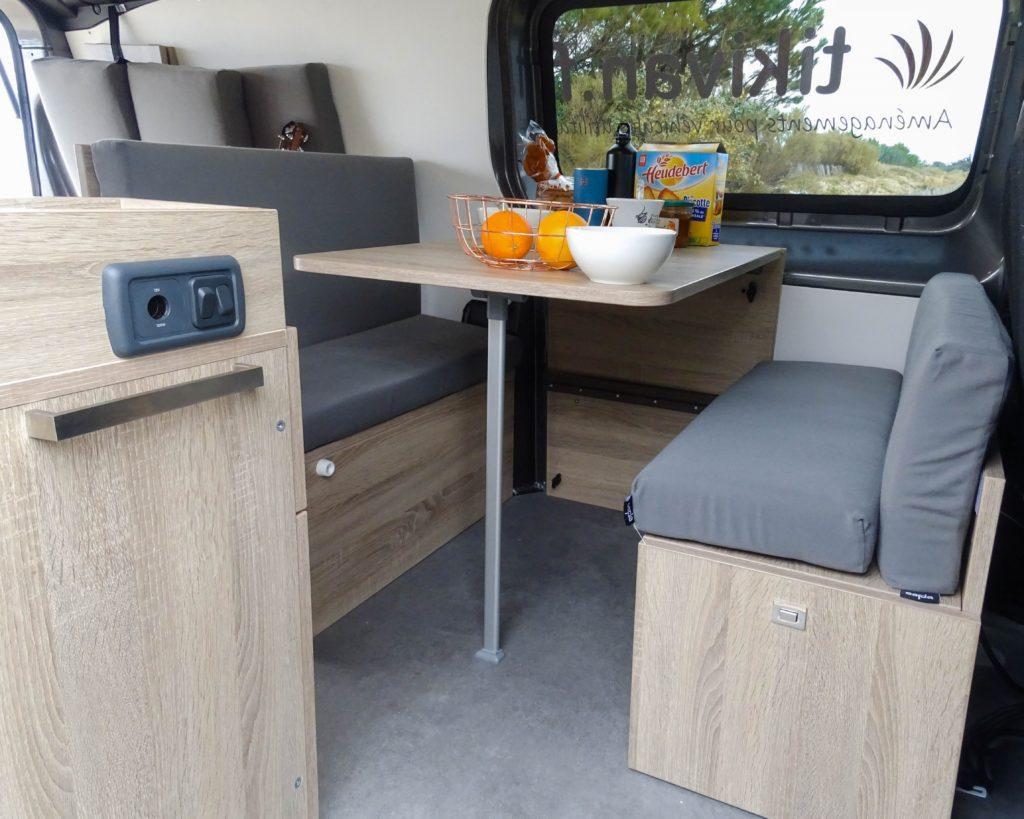 kit amenagement fourgon camping car ducato