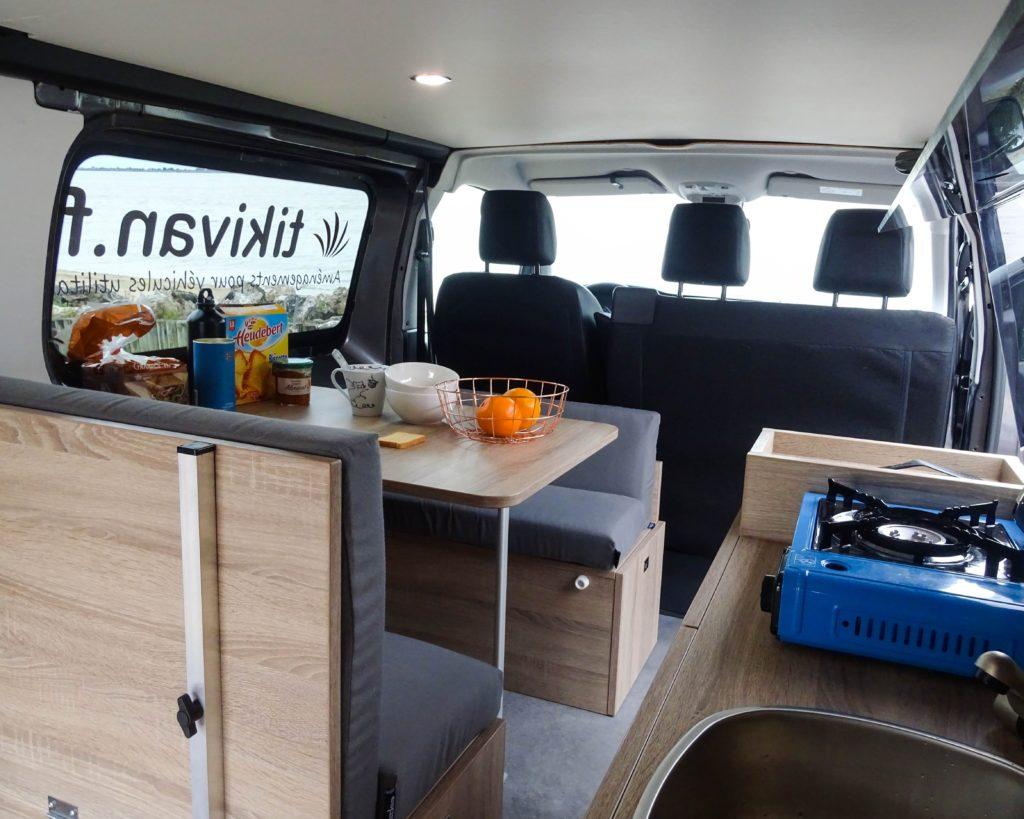 kit amenagement voiture camping car